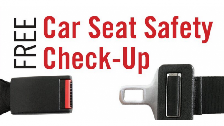 Free Car Seat Check up event June 9