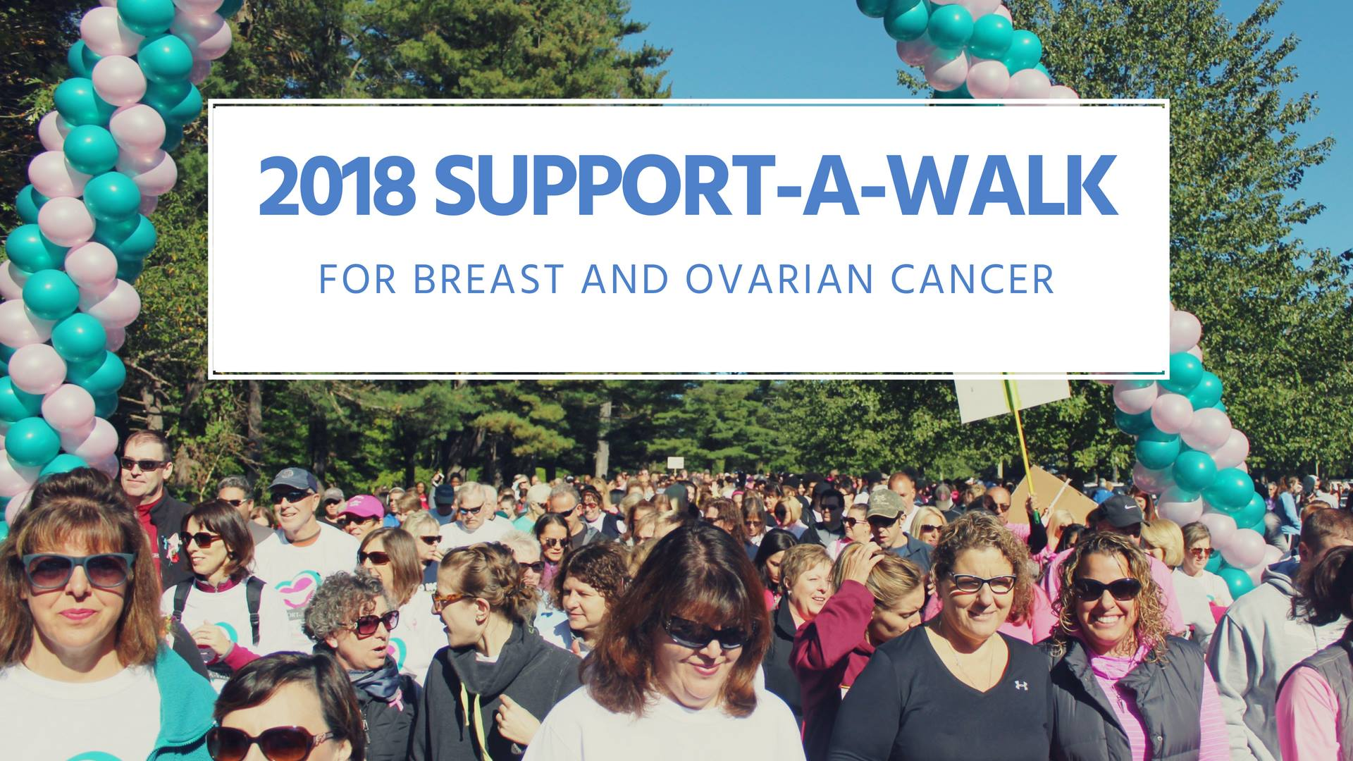 Annual Support A Walk For Breast Ovarian Cancer