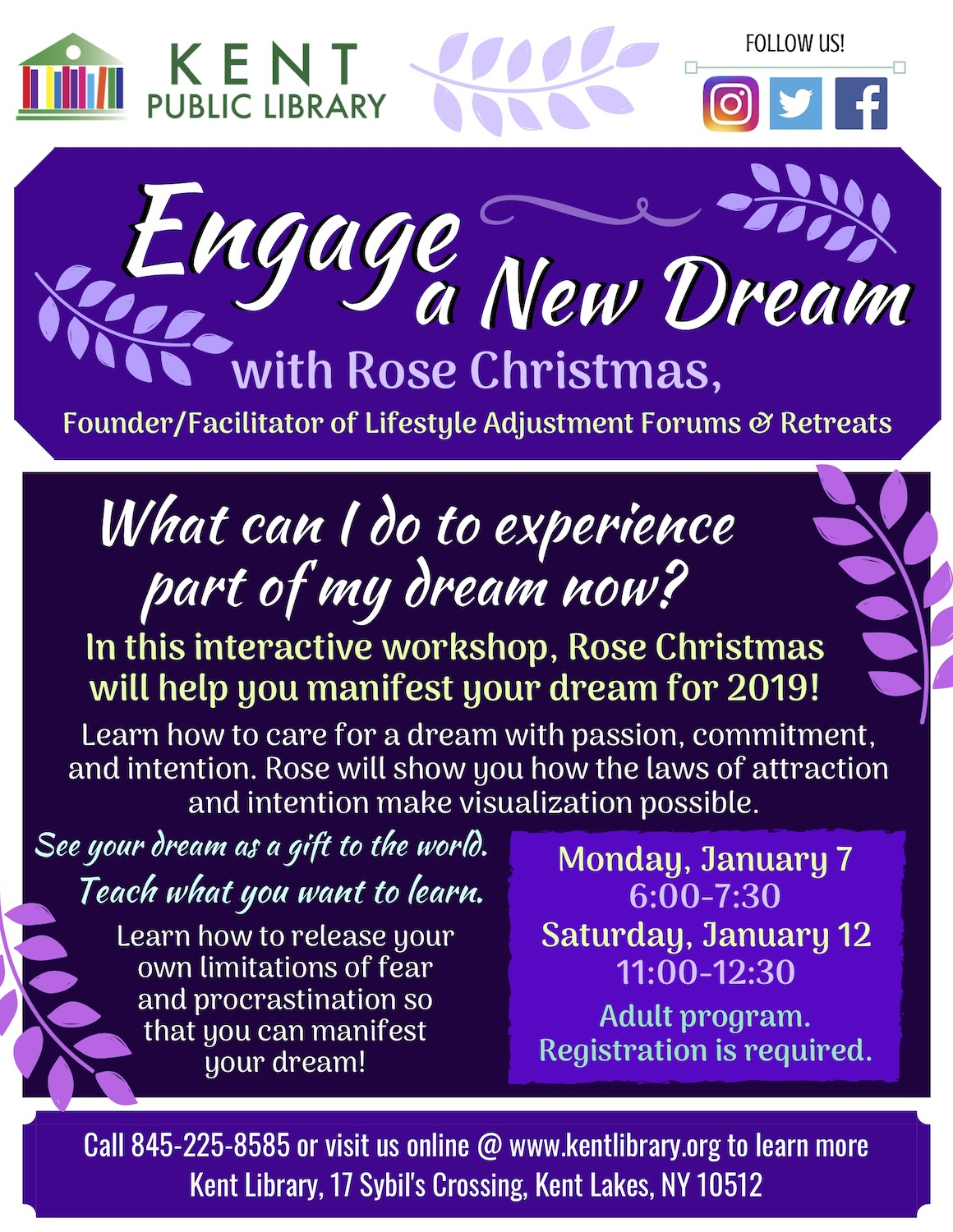 My Christmas Dream 2019.Engage A New Dream In 2019 With Rose Christmas At The Kent