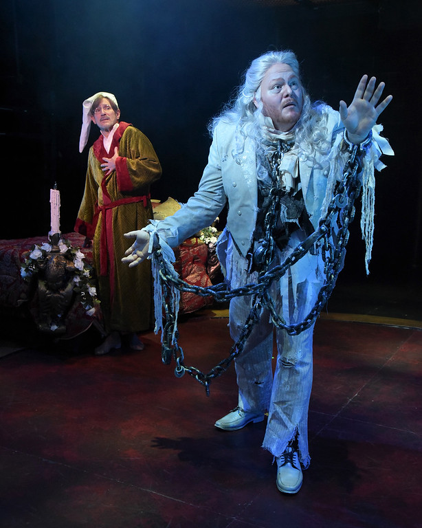 Christmas Carol Scrooge And Marley.A Christmas Carol Through December 23 At Westchester