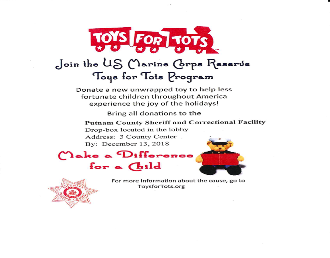 Donations Needed For Toys For Tots
