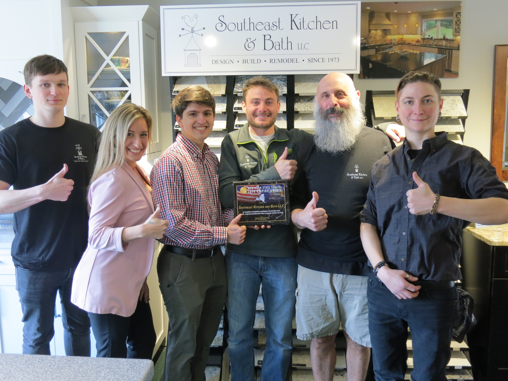 Southeast Kitchen & Bath Receives a NYS Senate 2019 Empire Award