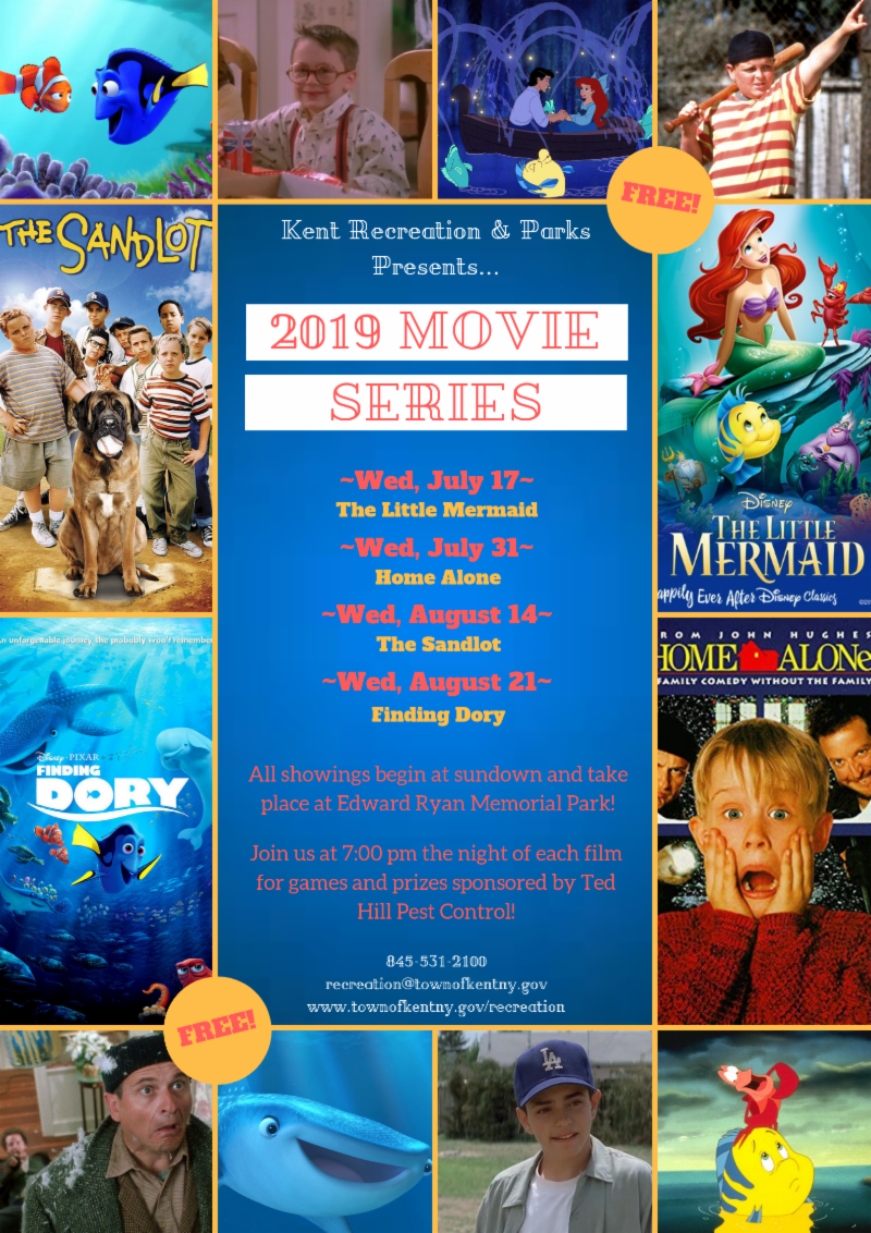 Here Its Summer All Time >> Free Kent Recreation Summer Movie Series