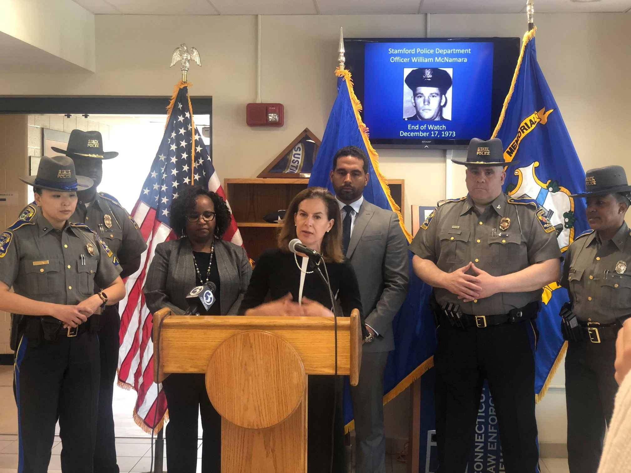 Lt  Governor and State Police announce initiative to recruit