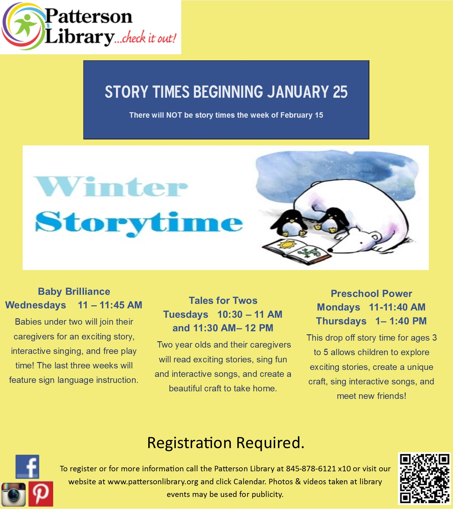 4279845ff17a Winter Story Times for Children 5 and Younger