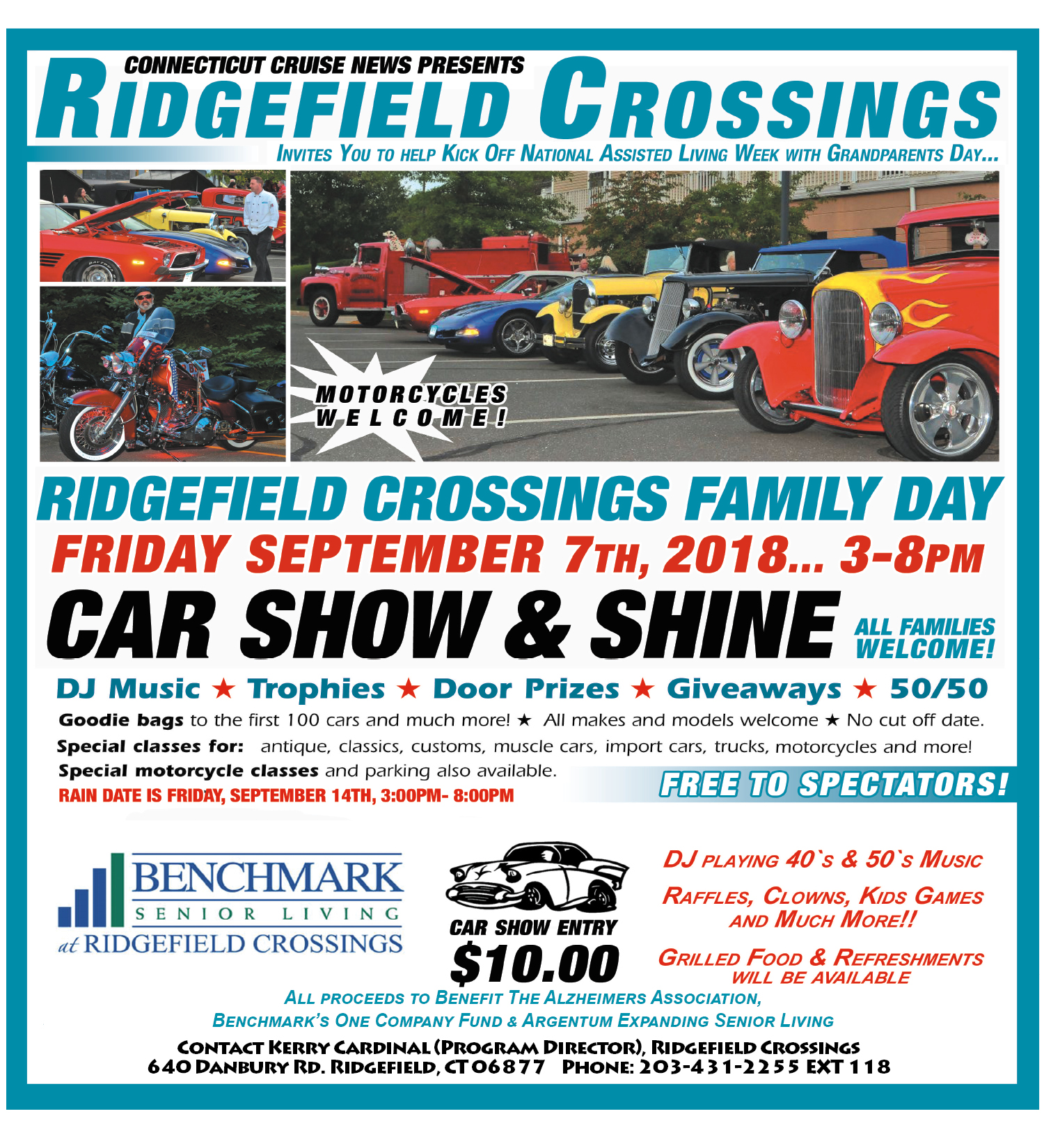Car Show And Shine In Ridgefield On September - Car show giveaways