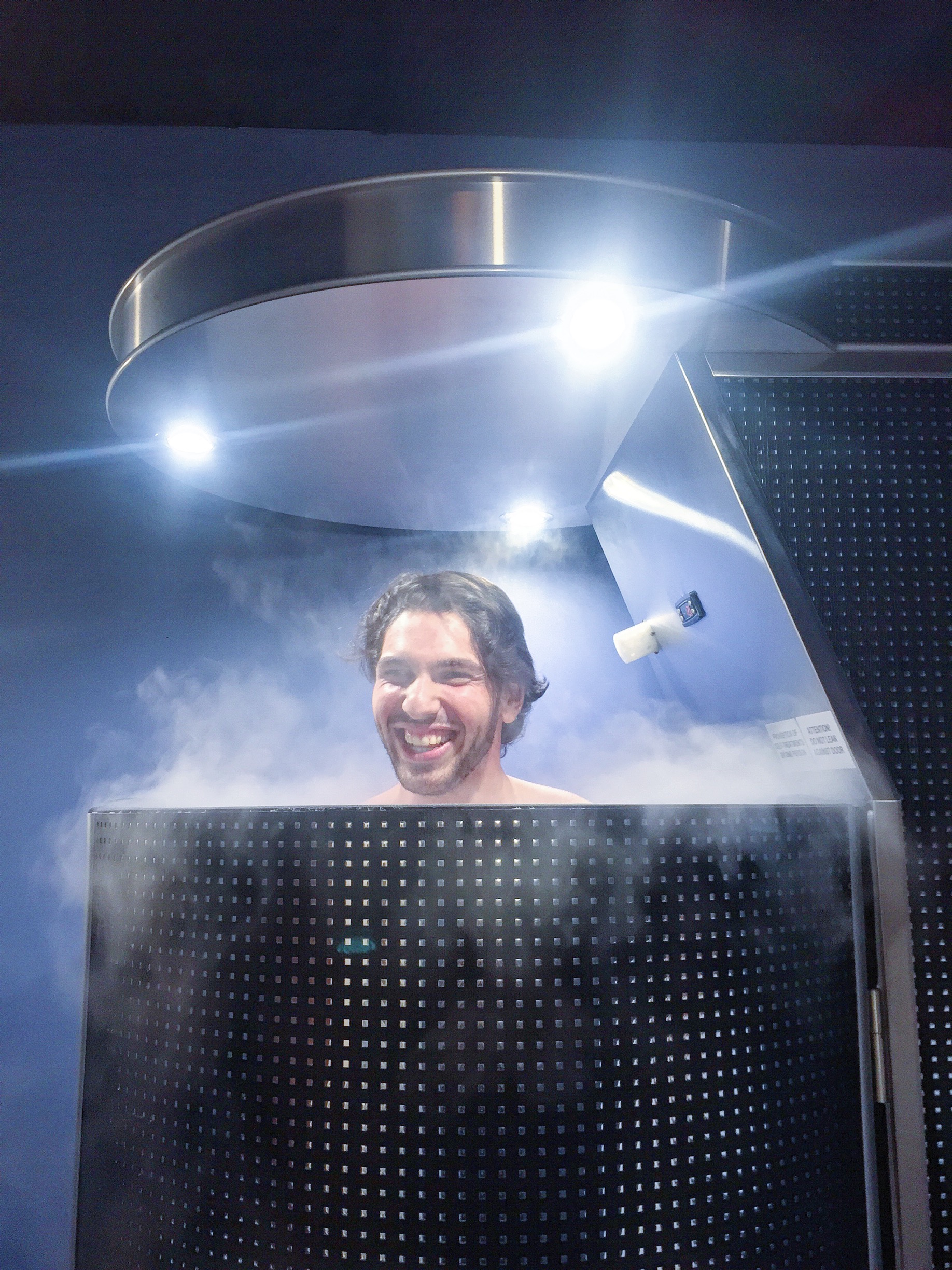 Just as the weather begins to warm up, there's going to be a new way to  keep your cool. Negative 264 degrees F cool, to be exact.