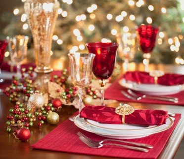 the holiday season is upon us and festive parties often fill the calendar in december - Christmas Dinner Party