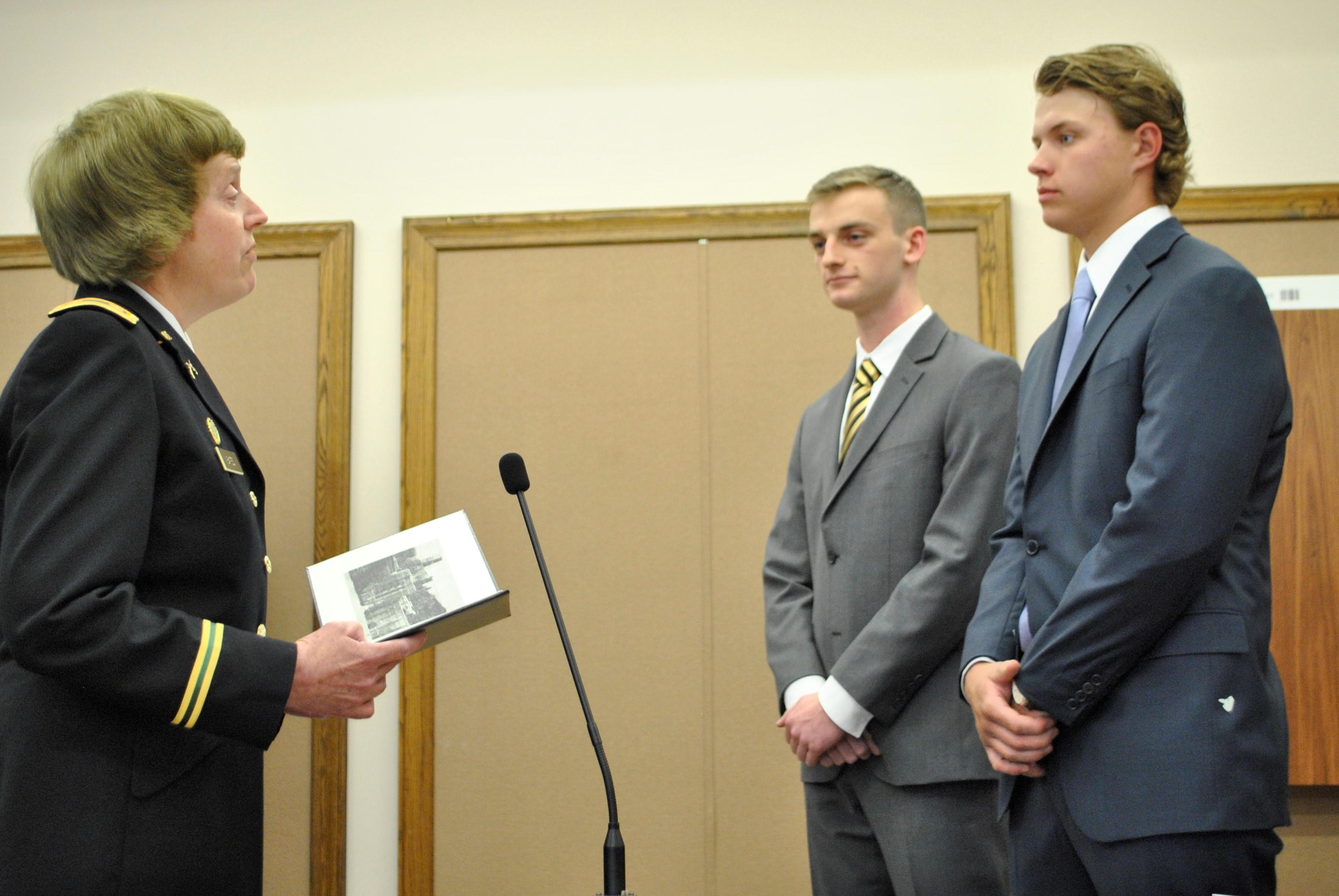Two Danbury High School students appointed West Point cadets