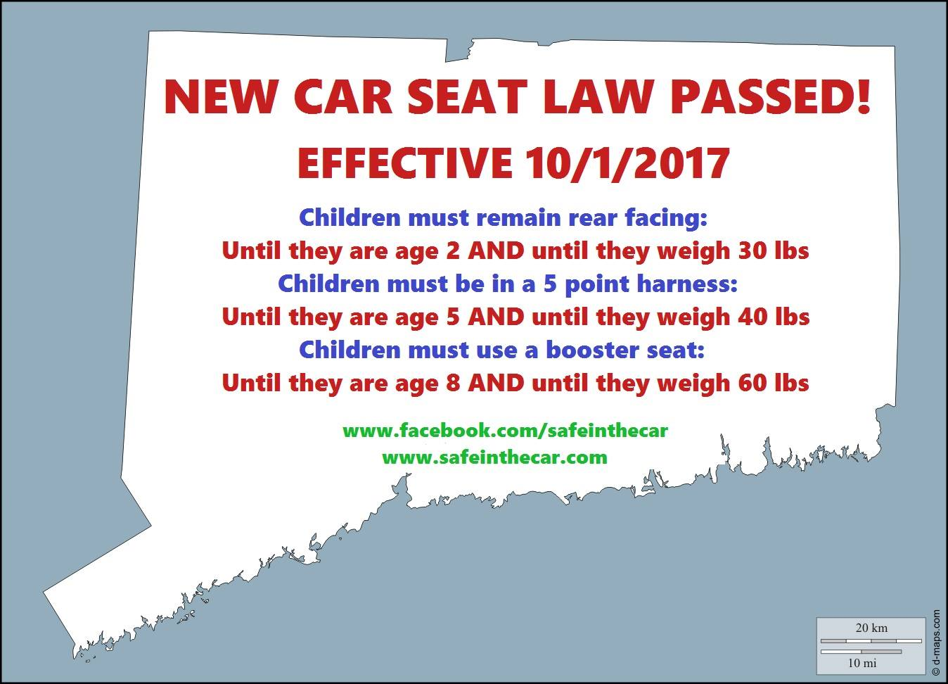 Maryland Child Car Seat Laws