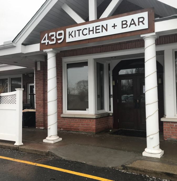 High Quality 439 Kitchen + Bar Is Coming To 439 Main Street In Ridgefield, The Space  That Housed Cellar Door Steakhouse.The New Restaurant Has Signage And A  Peek Inside ...