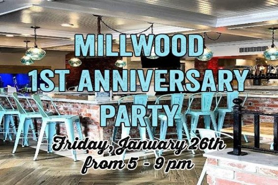 Millwood decicco & sons 1st anniversary party on january 26