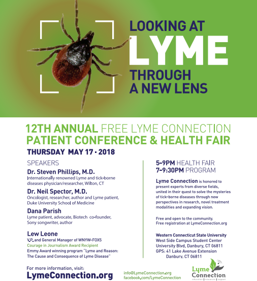 12th Annual FREE Lyme Connection Patient Conference & Health