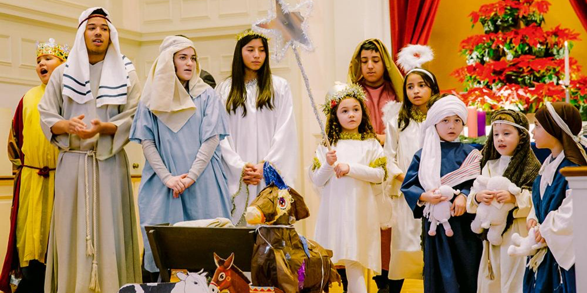 Christmas Pageant.Bilingual Children S Christmas Pageant On Sunday At First