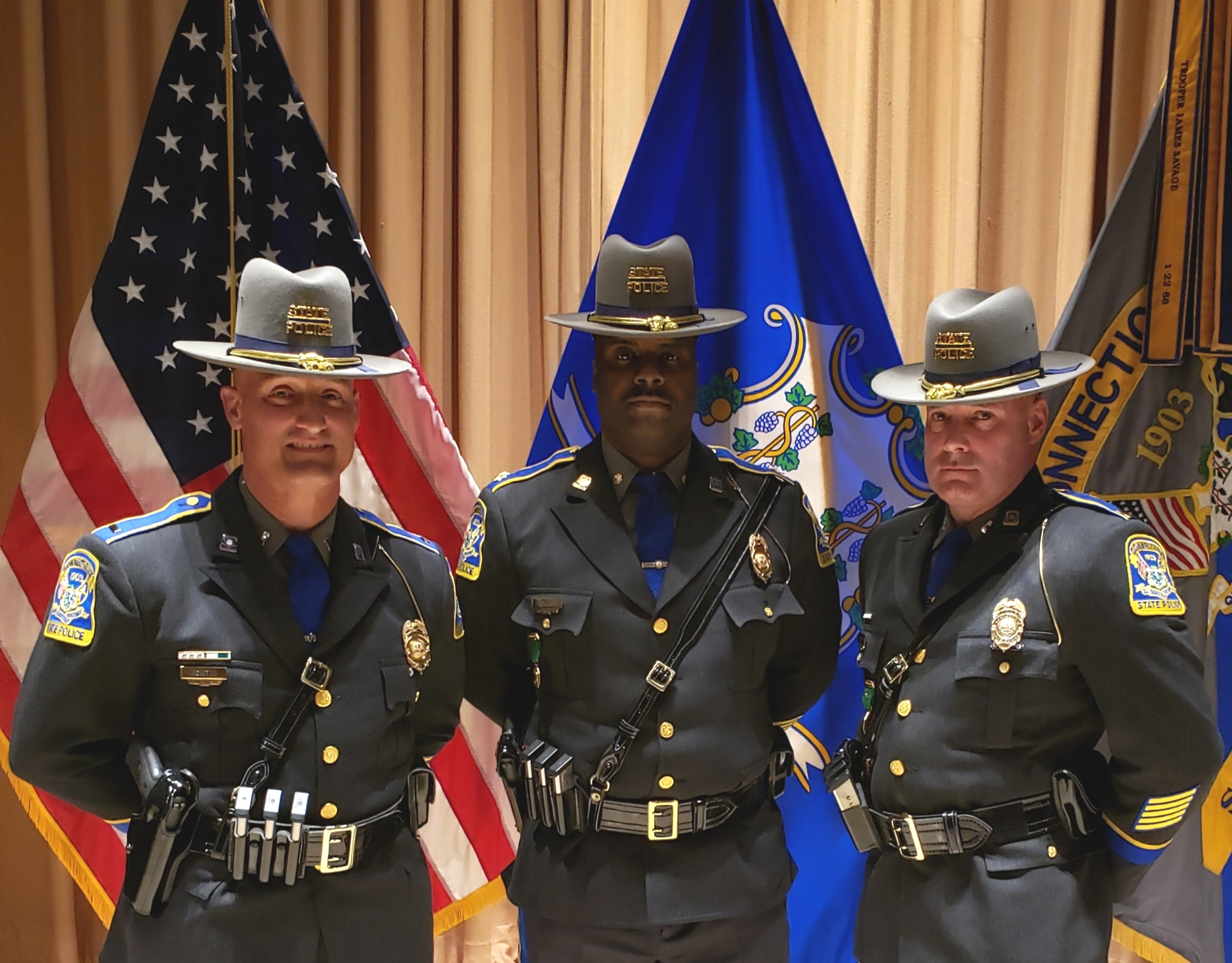 State Police Promote Top Command Staff