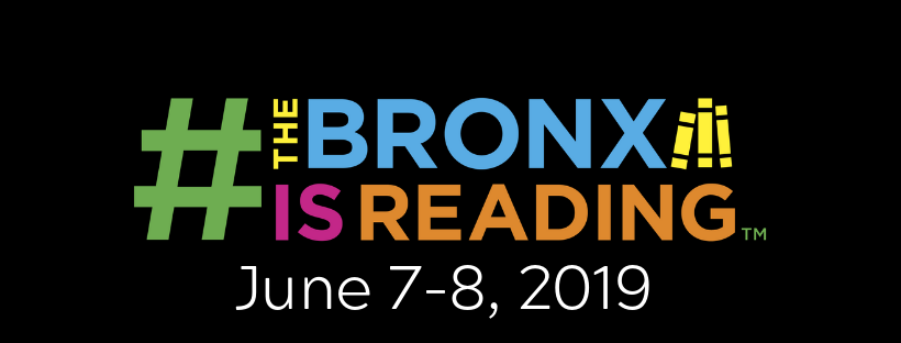 Image result for the bronx  book festival logo
