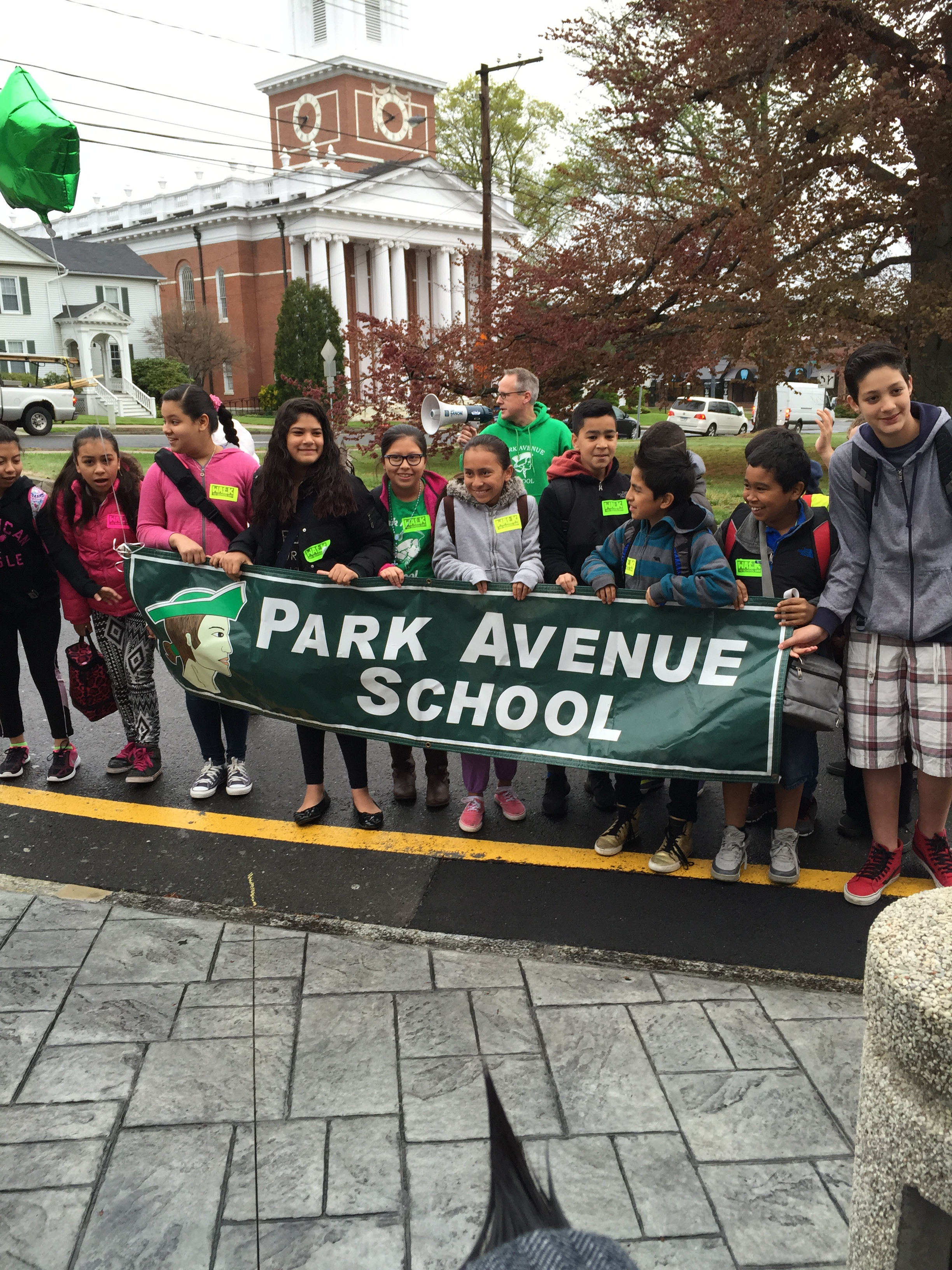 Walking School Bus to Become Regular Activity at Park Avenue