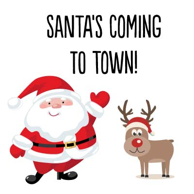 Santa Arrives in Katonah on November 25