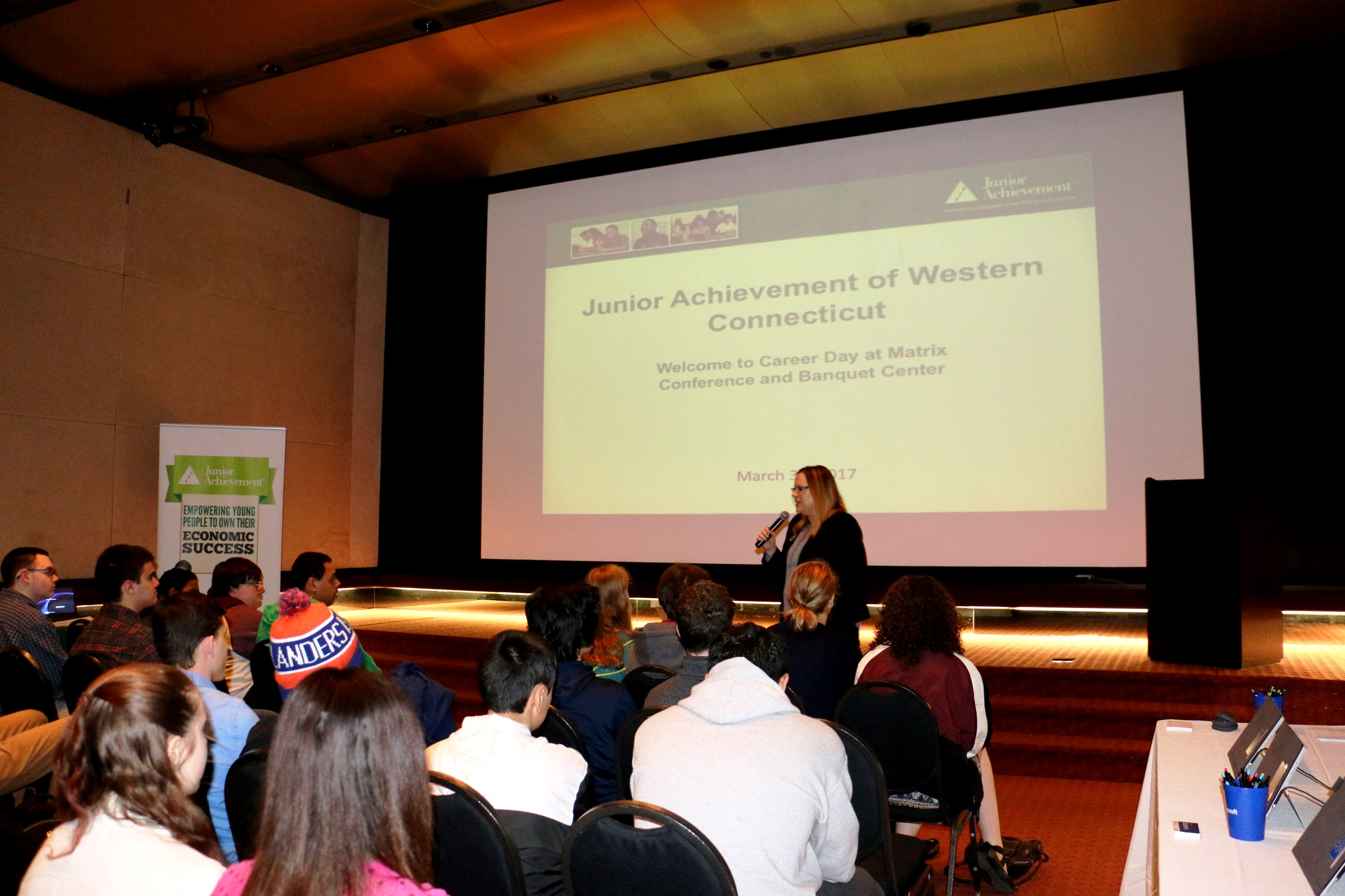 praxair sponsors junior achievement career day in danbury