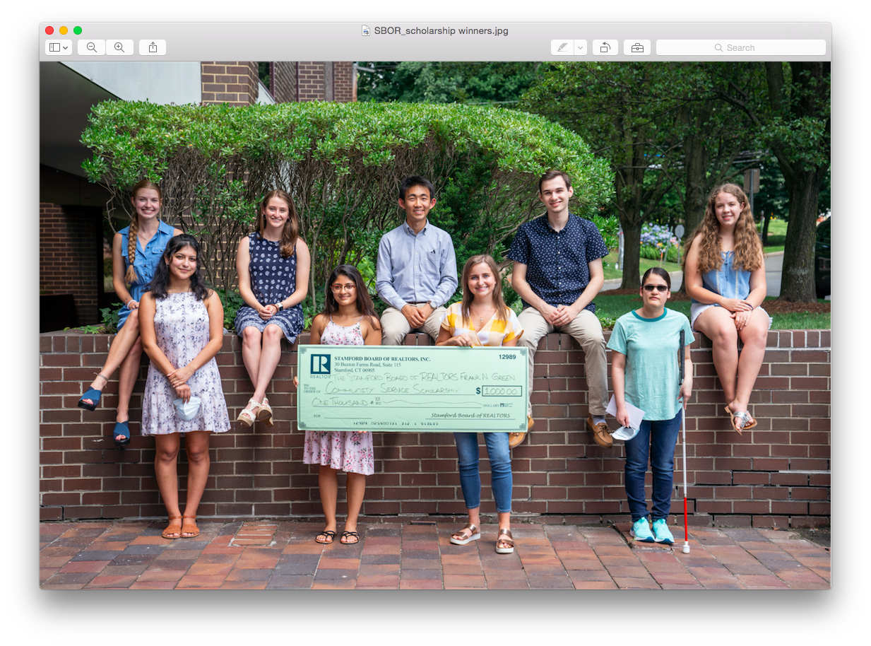 Stamford Bor Scholarship Winners Shine In Surreal Scholastic Homestretch
