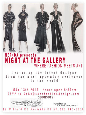 Night At The Gallery Where Fashion Meets Art May 13 At Fairfield County Antique Design Center