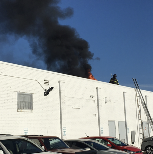 Fairfield fire dept responds to a structure fire at for Maritime motors fairfield connecticut