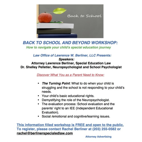 The Role Of Independent Educational >> Back To School And Beyond How To Navigate Your Child S Special