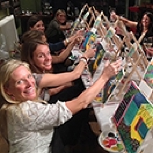 MASTERS MIXERS – Paint Sip Parties at Georgetown School of the Arts