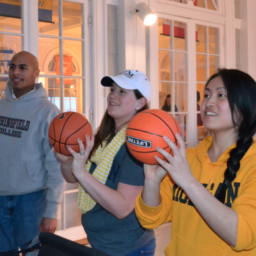 Fans Celebrate March Madness And Support The Rye Y