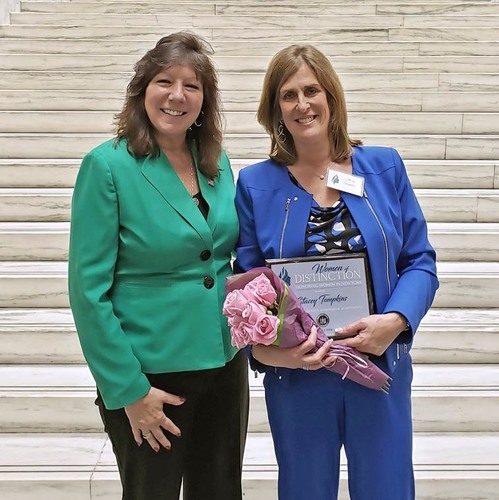 Stacey Tompkins Receives New York State Senate Award