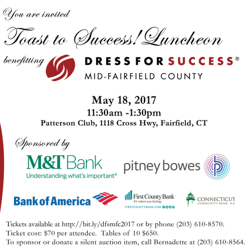 Join Us! Dress for Success® Mid-Fairfield County invites all