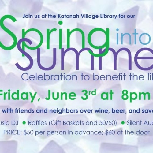 The Katonah Village Library's Spring Into Summer Event Is