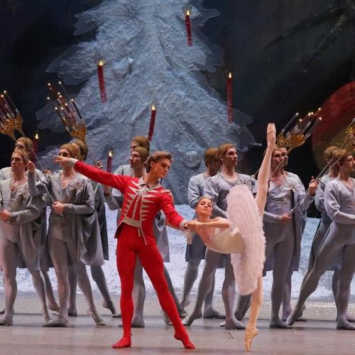 Bolshoi Ballet in HD's The Nutcracker on December 23 at The Ridgefield Playhouse