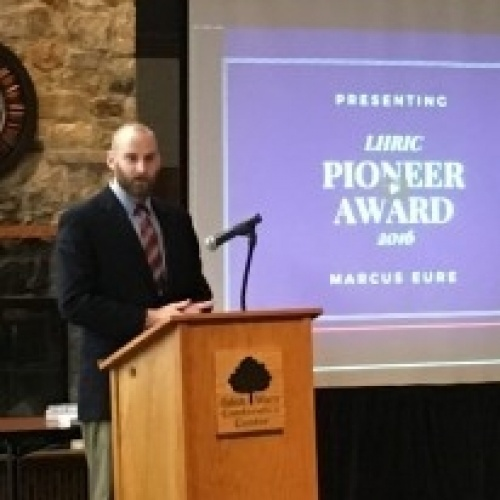 Marcus Eure Honored With 2016 Pioneer Award