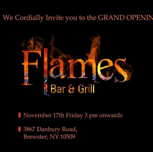 Spike Your Taste Buds At Grand Opening Of Flames Bar