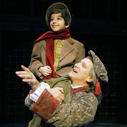 Tiny Tim A Christmas Carol: A Christmas Carol Musical At Westchester Broadway Theatre