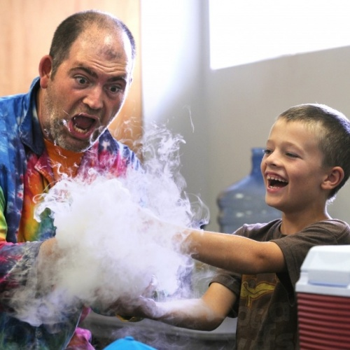 """Sciencetellers"" At Brewster Library"