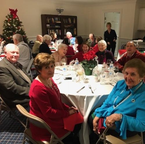 Holiday Joy & Camaraderie For Residents Of Ridgefield