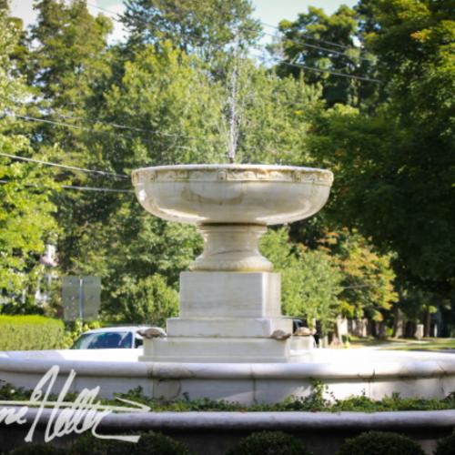Ridgefield's Landmark Fountain: Local Historian Sets The