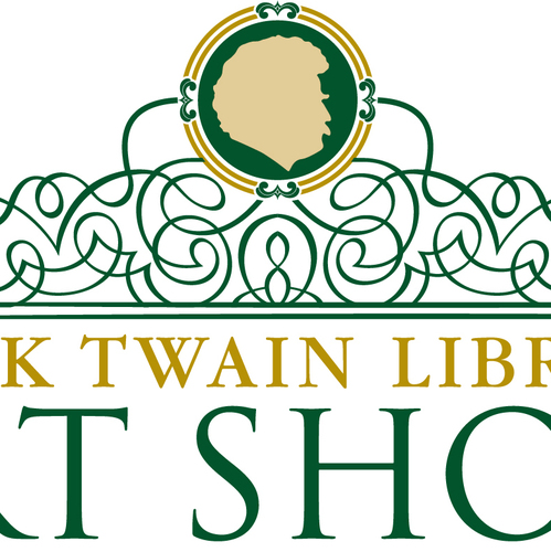 Mark twain library turned art gallery for annual art show for Craft fairs in ct december