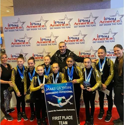 New Milford Residents Compete At Kratos Gymnasts Make A