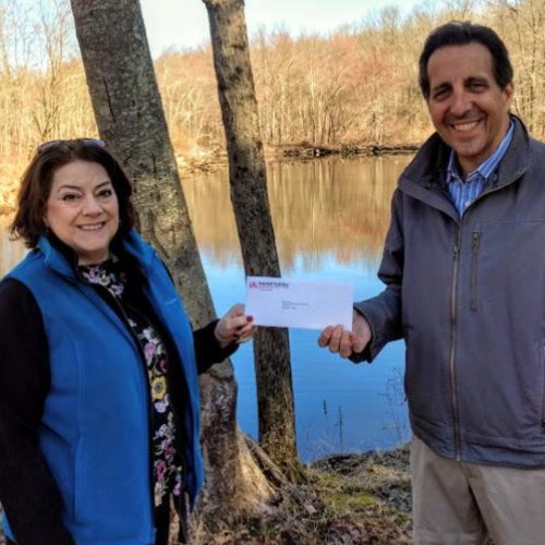 norwalk river valley trail receives  10 000 grant from