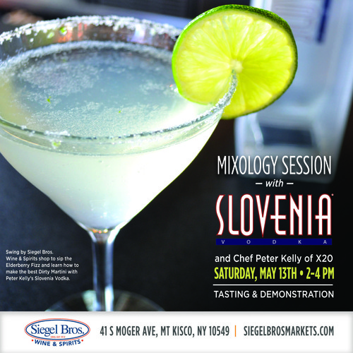 Siegel Bros Teams Up With Slovenia Vodka And Yonkers