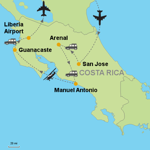 Bordering the Pacific, Guanacaste is known for its beaches and biodiverse parkland and is home to rare dry tropical forest, surfing sites, black sand beaches, and some 250 bird species.