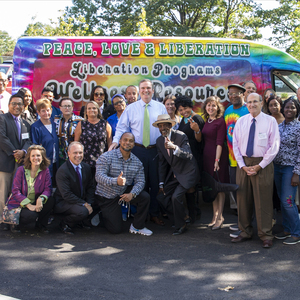 Liberation Programs celebrated the grand opening of the Pelletier Wellness Center on Sept. 19, 2019. Liberation Programs' new Wellness Resource Van also made an appearance.