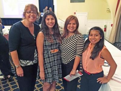 Left to right: Laura Rey Iannarelli, Rey Insurance; Sara Mendez; Vanessa Mendez, Rey Insurance Agency; Ava Iannarelli.