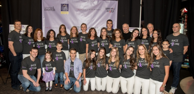 Committee families from Westchester & Fairfield Counties came together to honor their loved ones affected by pancreatic cancer at the 2nd Annual Race 4 A Cure.