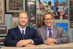 Left to right: Kyle Babel and David J. Babel of Babel Realty.