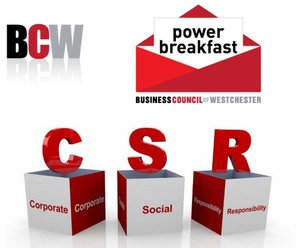 Corporate Social Responsibility Done Right-Tompkins Mahopac Bank Power Breakfast.Business Council of Westchester