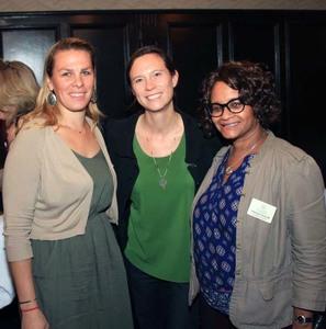 Karen Proctor, Apple Moms HV; Amanda Bayley, Plan It Wild; Chereese Jervis-Hill, Events To Remember